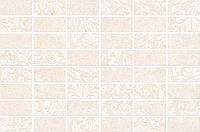 Керамическая плитка Декор Золотой пляж светлый беж мозаичный 20х30х6,9 MM8262