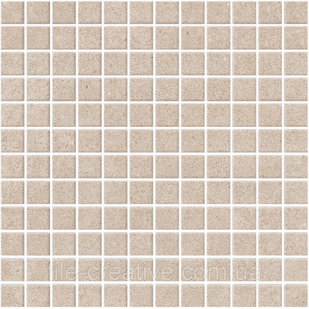 Керамическая плитка Мозаика Золотой пляж беж светлый 29,8х29,8х3,5 20098