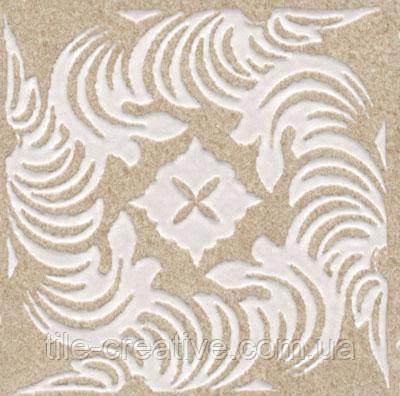 Керамічний граніт Вставка Золотий пляж темний беж 4,9х4,9х8 AD\B291\SG9224