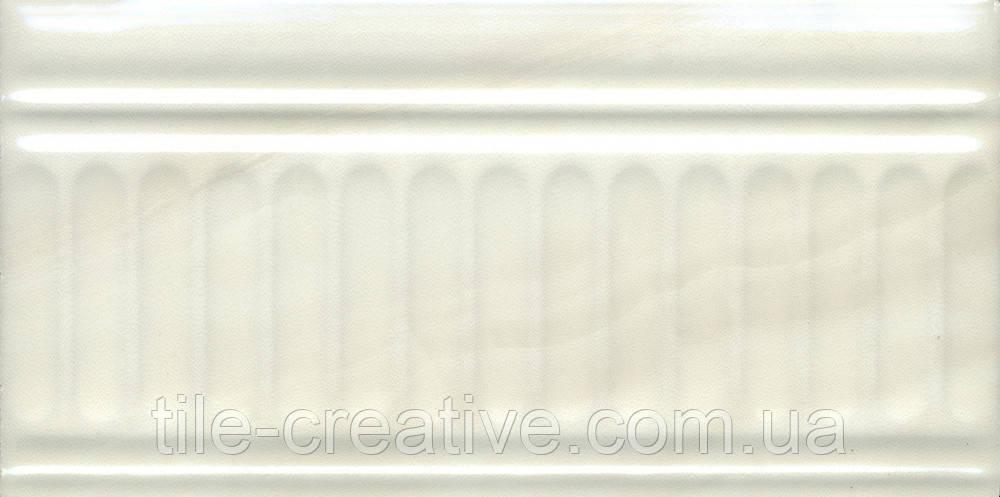 Керамічна плитка Бордюр Літній сад фісташковий структурований 20х9,9х9,2 19018\3F