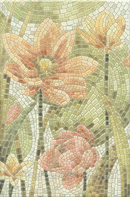 Керамічна плитка Декор Літній сад Лілії лаппатированный 20х30х6,9 HGD\A146\880L