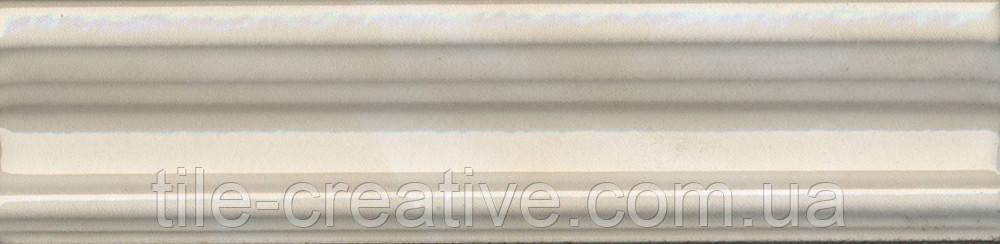Керамическая плитка Бордюр Багет Летний сад беж 20х5х19 BLB018