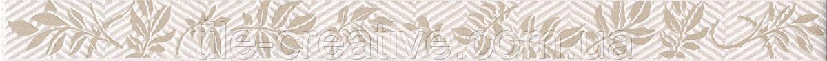 Керамічна плитка Бордюр Сап'ян Квіти 40х3х8 AD\A195\15054