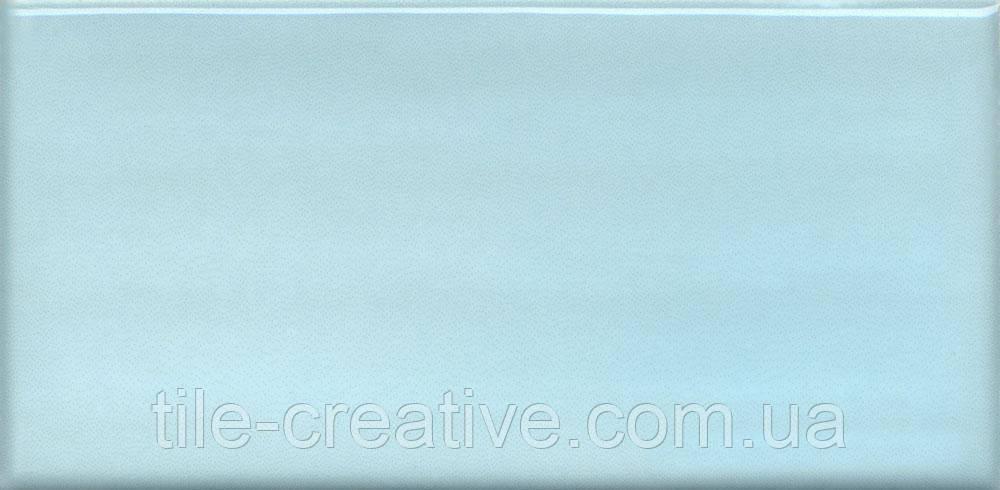Керамічна плитка Мурано блакитний 7,4х15х6,9 16030
