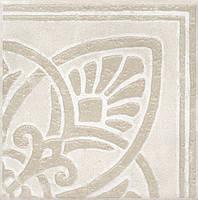 Керамическая плитка Декор Бальби ковер угол 9,9х9,9х7 HGD\A162\1266