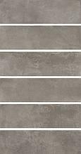 Керамическая плитка Маттоне серый 8,5х28,5х9 2911
