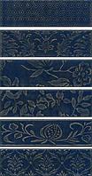 Керамическая плитка Панно Кампьелло синий 51х28,5х7/AD\B333\6x\2914 AD\B333\6x\2926