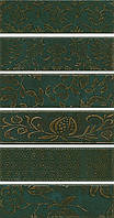 Керамическая плитка Панно Кампьелло зеленый, 6 частей 51х28,5х7/AD\E333\6x\2914 AD\E333\6x\2926