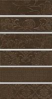 Керамическая плитка Панно Кампьелло коричневый, 6 частей 51х28,5х7/AD\D333\6x\2914 AD\D333\6x\2926