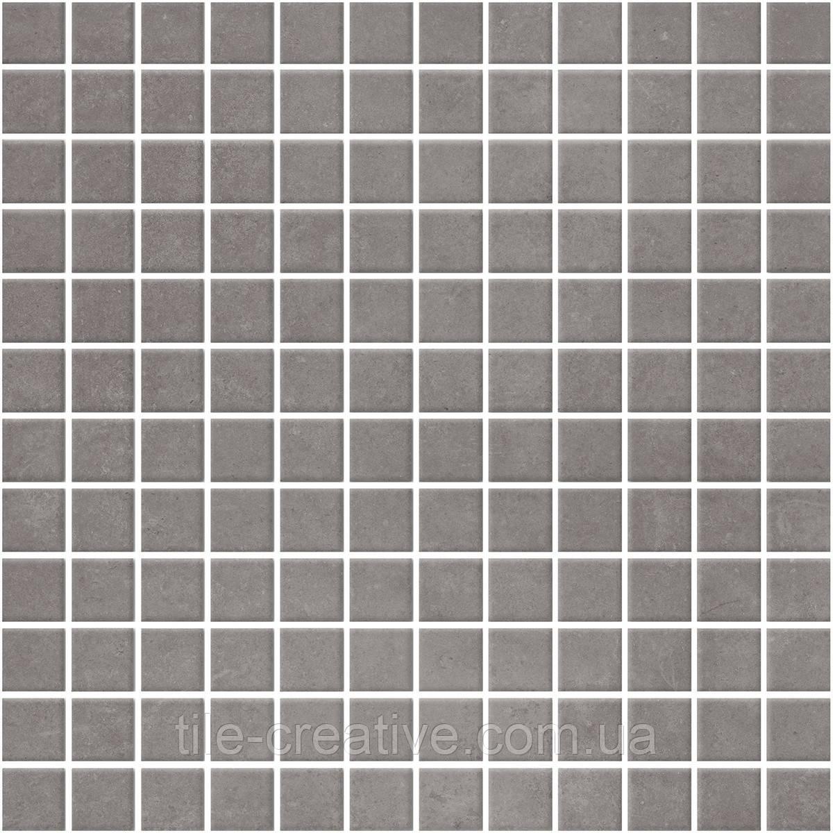 Мозаїка Кастелло сірий темний 29,8х29,8х3,5 20107