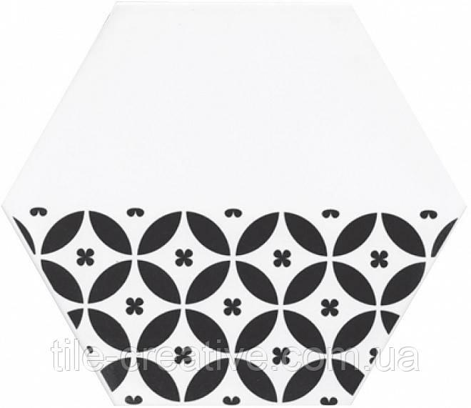 Керамическая плитка Декор Буранелли лепестки круги 20х23,1х7 NT\A208\SG2300