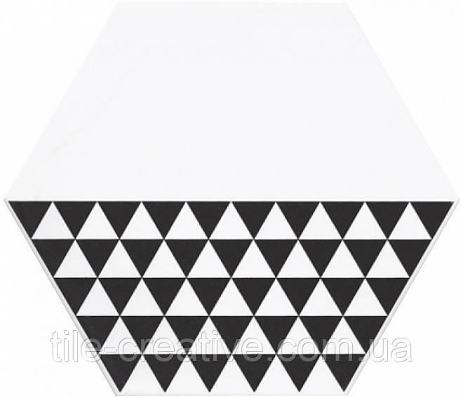 Керамічна плитка Декор Буранелли трикутники 20х23,1х7 NT\A218\SG2300