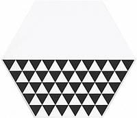 Керамическая плитка Декор Буранелли треугольники 20х23,1х7 NT\A218\SG2300