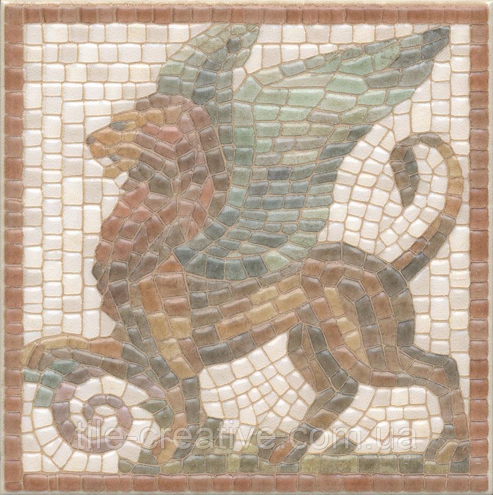 Керамічна плитка Декор Віченца Лев 15х15х6,9 HGD\A139\17000