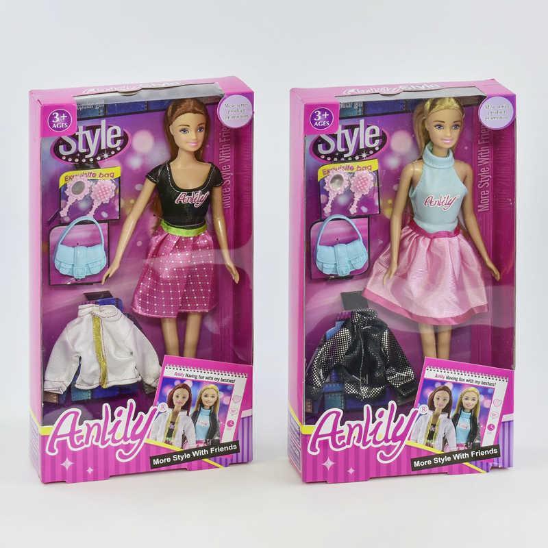 Кукла Anlily 99036 (60/2) 2 вида, с аксессуарами, в коробке