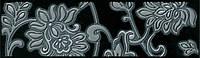 Керамическая плитка Бордюр Аджанта 20х5,7х6,9 STG\A42\8141