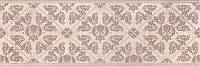 Керамическая плитка Декор Розовый город 25х75х9 AR168\12039