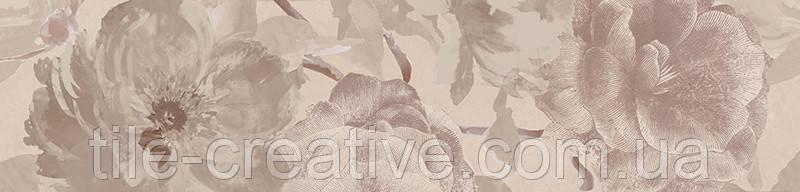 Керамическая плитка Бордюр Беневенто обрезной 30х7,2х11 13030R\11