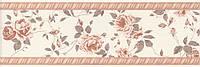 Керамическая плитка Бордюр Дейра Цветы 25х8х9 12068\9