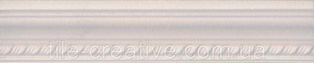 Керамическая плитка Бордюр Багет беж 25х5,5х18 BLA004