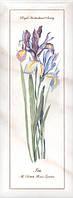 Керамическая плитка Декор Ноттингем Цветы грань 15х40х9,5 NT\A84\15005