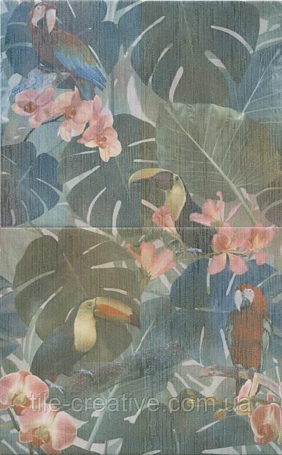 Керамічна плитка Панно Пальмовий ліс 50x80x8 HGD\A362\4x\6000