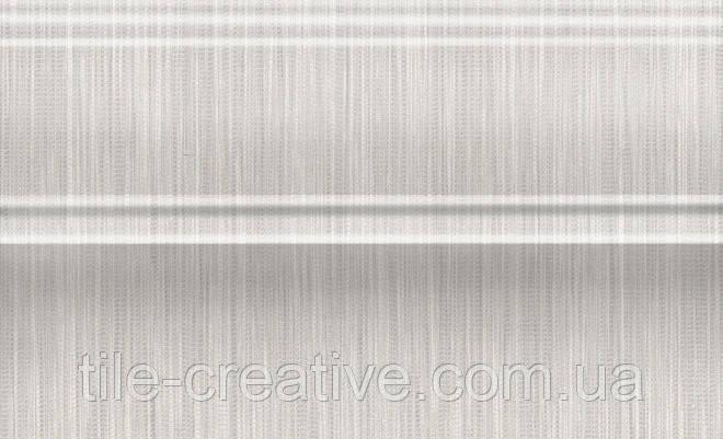 Керамическая плитка Плинтус Пальмовый лес беж светлый 25x15x15 FMB017