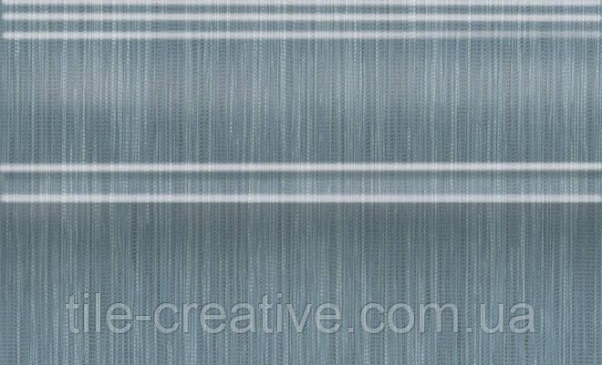 Керамическая плитка Плинтус Пальмовый лес синий 25x15x15 FMB018