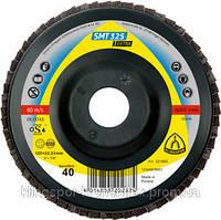 КЛТ 1 Круг лепестковый тарельчатый Klingspor SMT 325 125 x 22.23 p 40 Extra Клингспор 321654 прямой