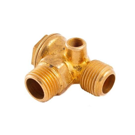 Обратный клапан на компрессор (1/2*1/2*1/8)