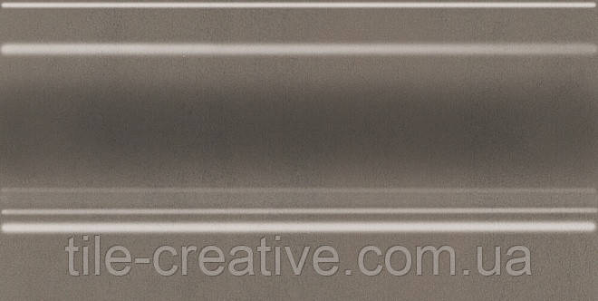 Керамічна плитка Плінтус Паралель коричневий 20x10x14 FMC015