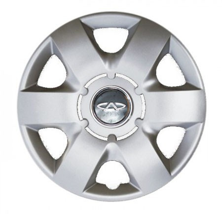 "Колпаки для колес 14"" c логотипом автомобиля 4 шт (SKS 215) Чери"