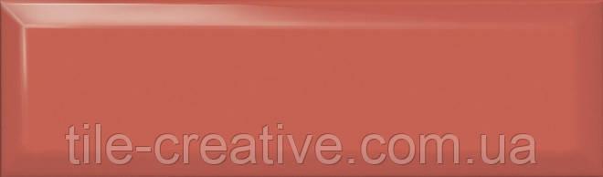 Керамическая плитка Аккорд коралловый грань 8,5х28,5 9023