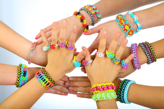 Купить набор для браслетов rainbow loom