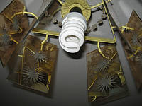Лампы люминесцентные под вкручивающейся патрон. Эконом-лампы
