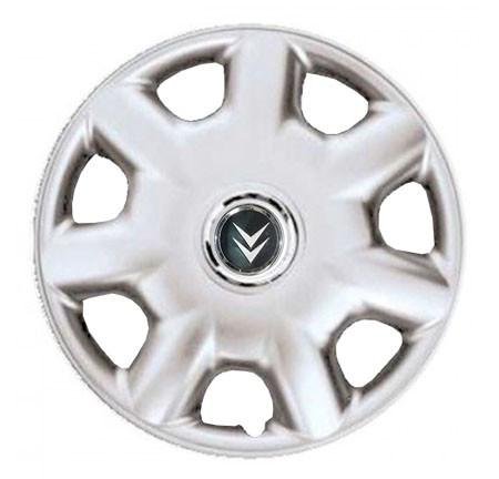 "Колпаки для колес 14"" c логотипом автомобиля 4 шт (SKS 218) Ситроен"