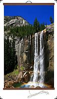 Обогреватель пленочный настенный Водопад 100 х 57 см, мощность 400 Вт., макс. темп. 75 С, фото 1