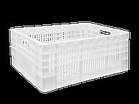 Пластиковые ящики для мяса 600х400х220