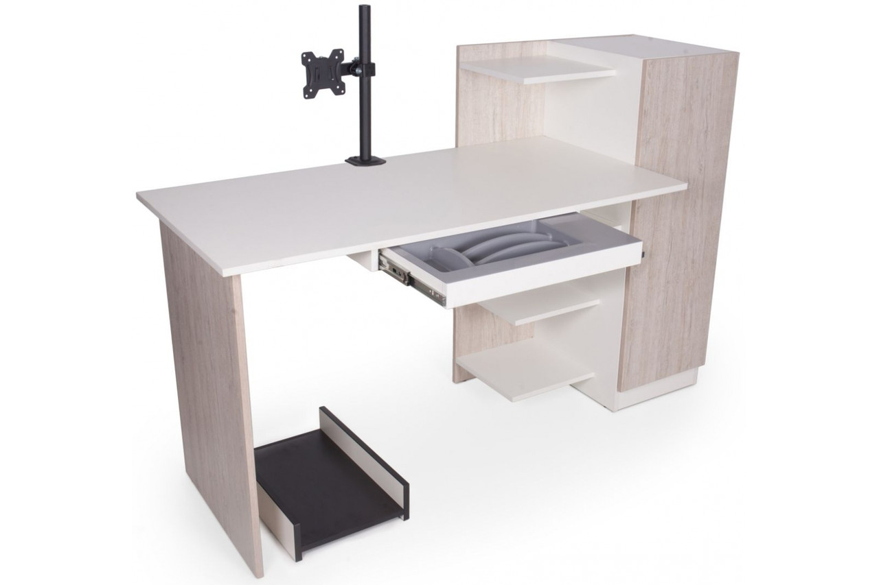 Компьютерный стол Barsky Homework HW-03+DWO-01