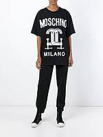 Мужская черная Футболка в стиле KENZO Milano