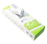 Авто зарядка для телефона Inkax, White, 2xUSB, 1A, кабель Type C (CD-13)