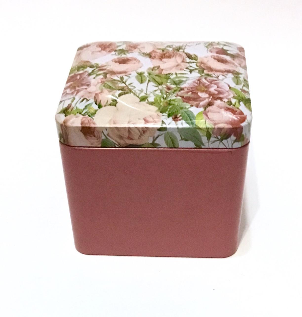 Подарочная коробочка металлическая