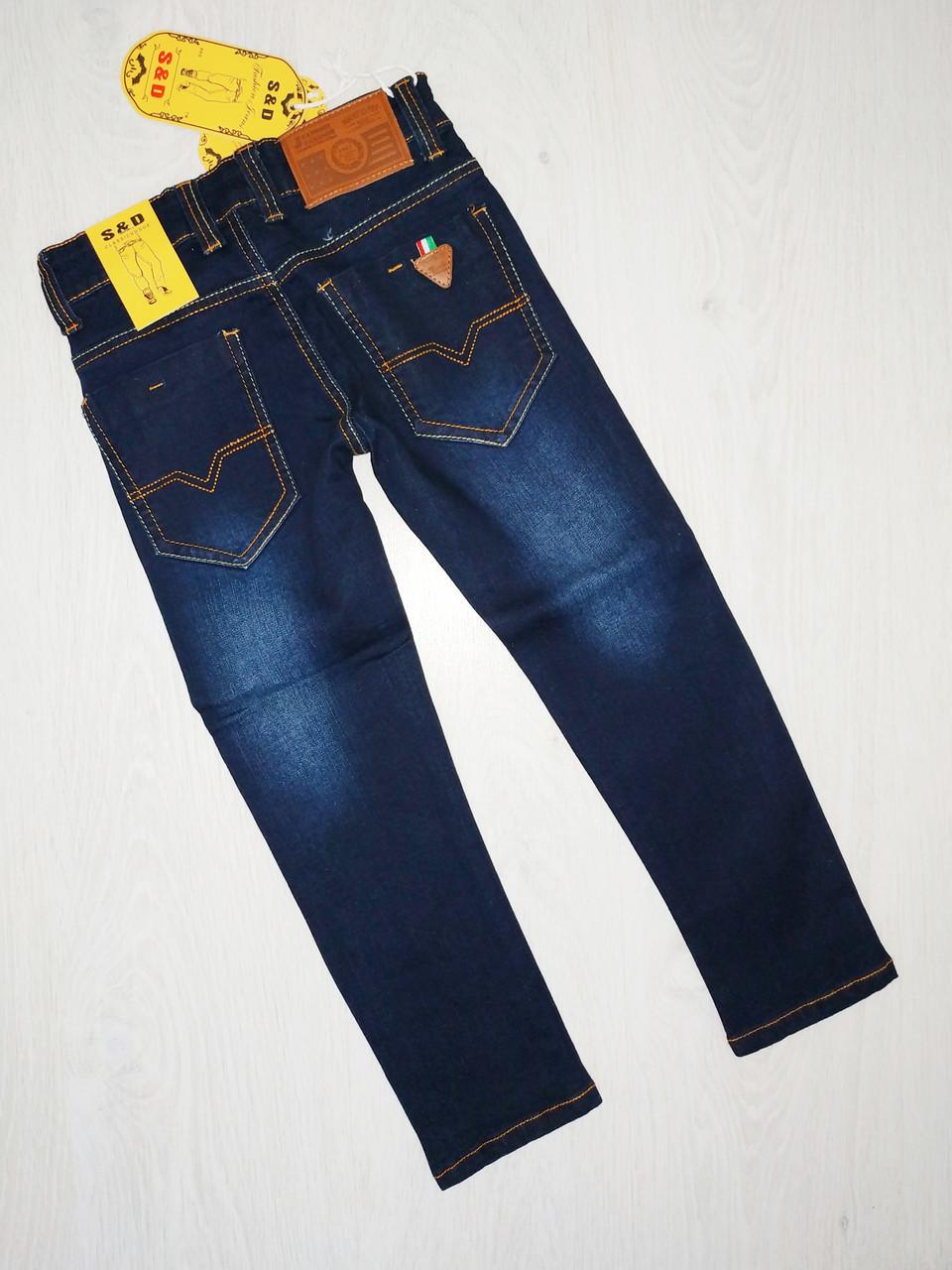 Джинсовые брюки для мальчиков, Венгрия, S&D, рр. 6,8 лет., арт. LY-353,