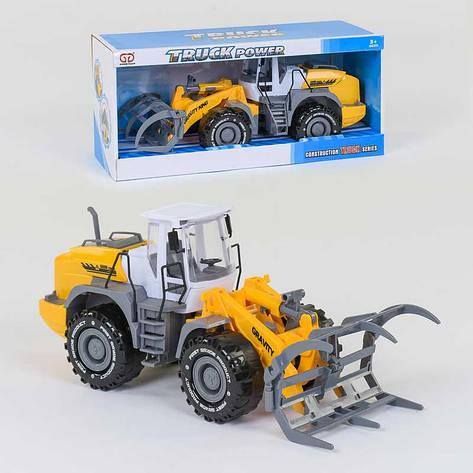 Трактор с захватом 9998-3 С (24) инерция, подвижный захват, в коробке, фото 2