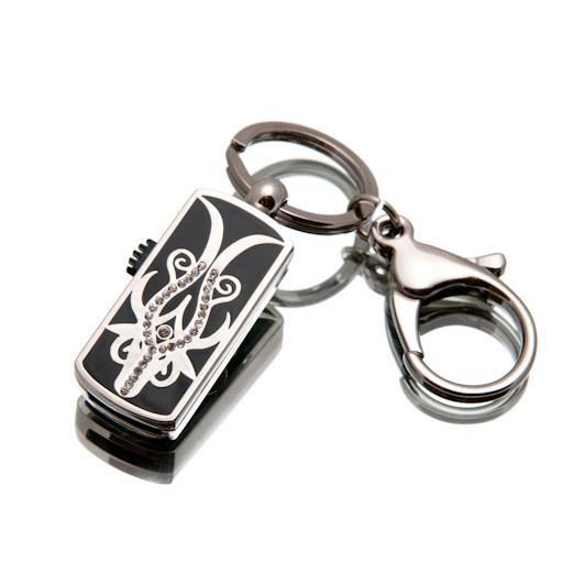 """Ювелирный флеш-накопитель """"Силуэт"""", 16Гб, серебристый цвет (0388В16ГБ)"""