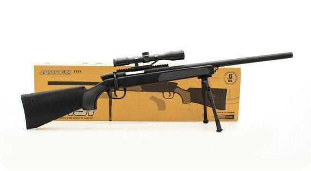 Дитяча снайперська пневматична гвинтівка