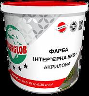 Anserglob краска интерьерная акриловая «ЭКО+» 7кг