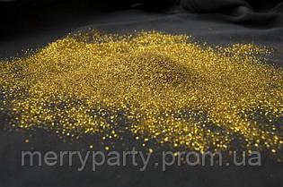 Глиттер золото фр. 1/64 50 г/упак.
