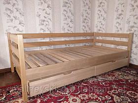 Деревянная кровать 90*190 Нотка