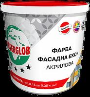 Anserglob краска фасадная акриловая «ЭКО+» 7кг